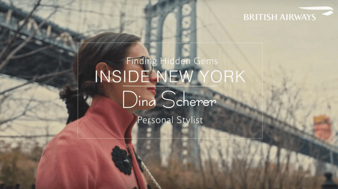 British Airways Dina Scherer Modnitsa Styling British Airways Film
