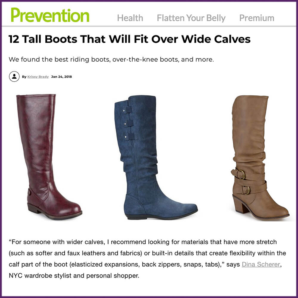 ​12 Tall Boots That Will Fit Over Wide Calves Article January 24 2018