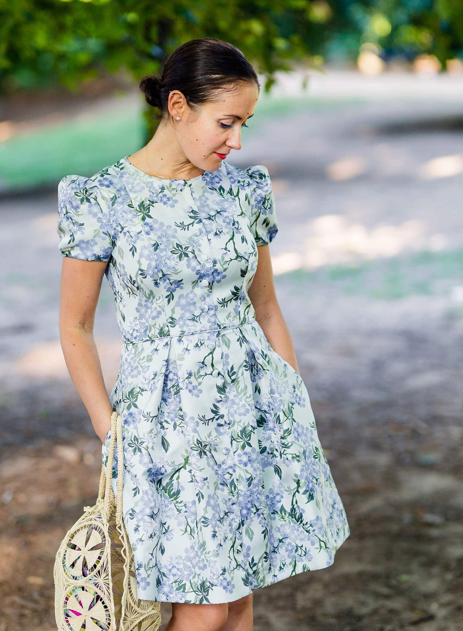 GMG Margaret Dress Fall Outfit Post