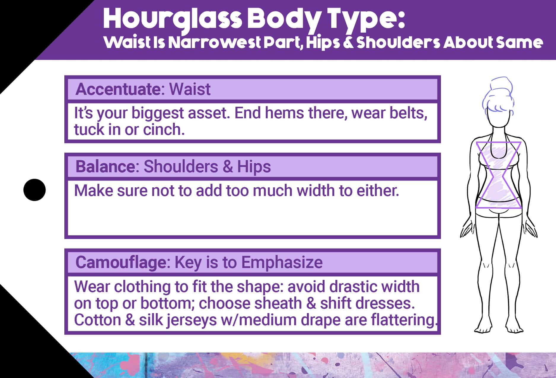 Hourglass Body Type Styling Suggestions