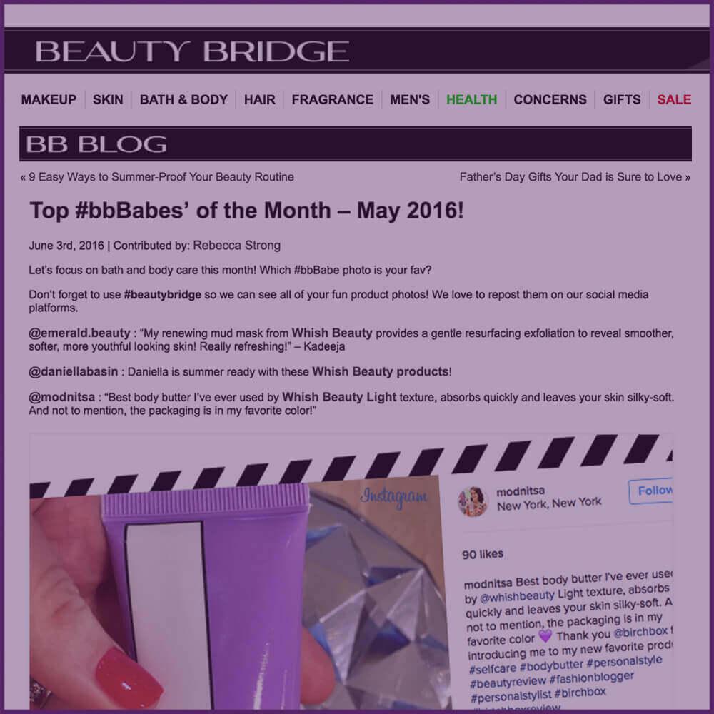Beauty Bridge BB Blog Instagram Highlight June 03 2016