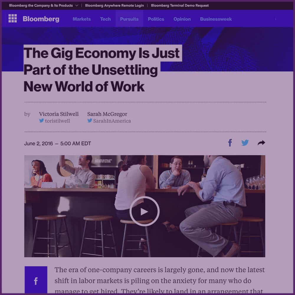 Bloomberg News Interview Mention June 02 2016