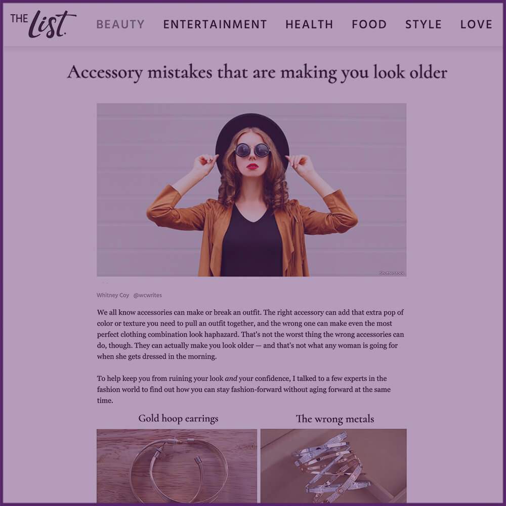 The List Feature Article October 31 2016