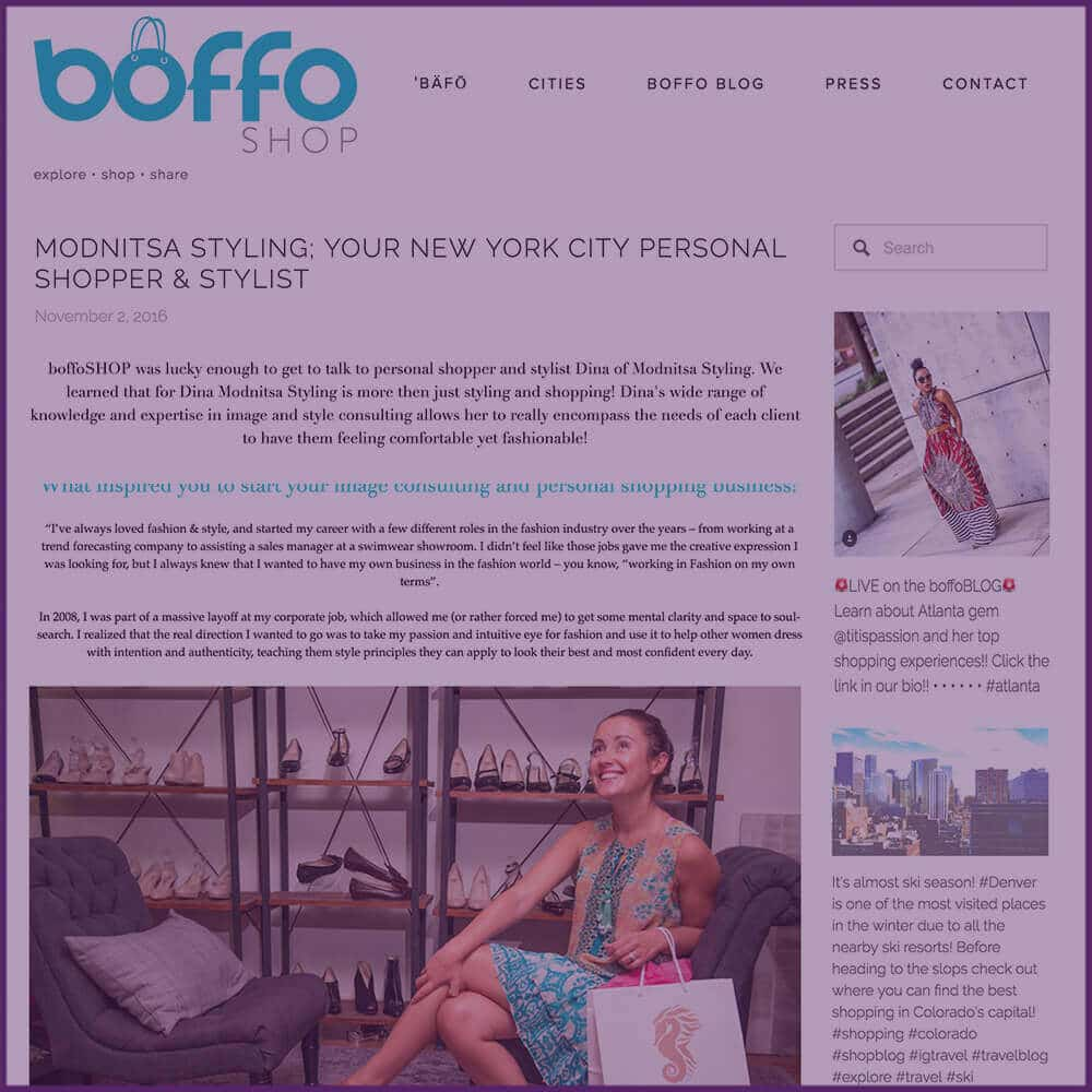 Boffo Shop Styling Feature Article November 2016
