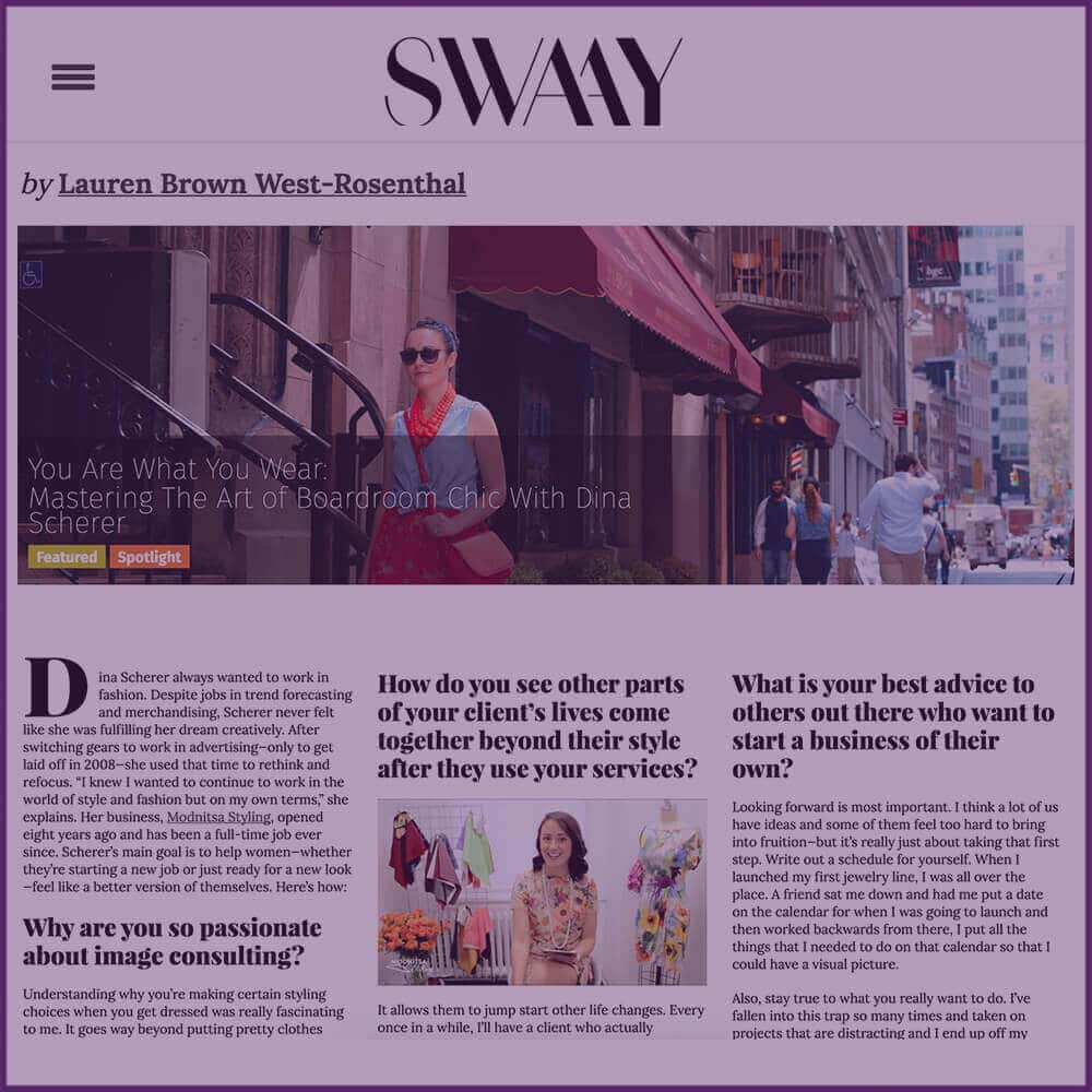 SwaayMedia Spotlight Profile Feature Article November 2016