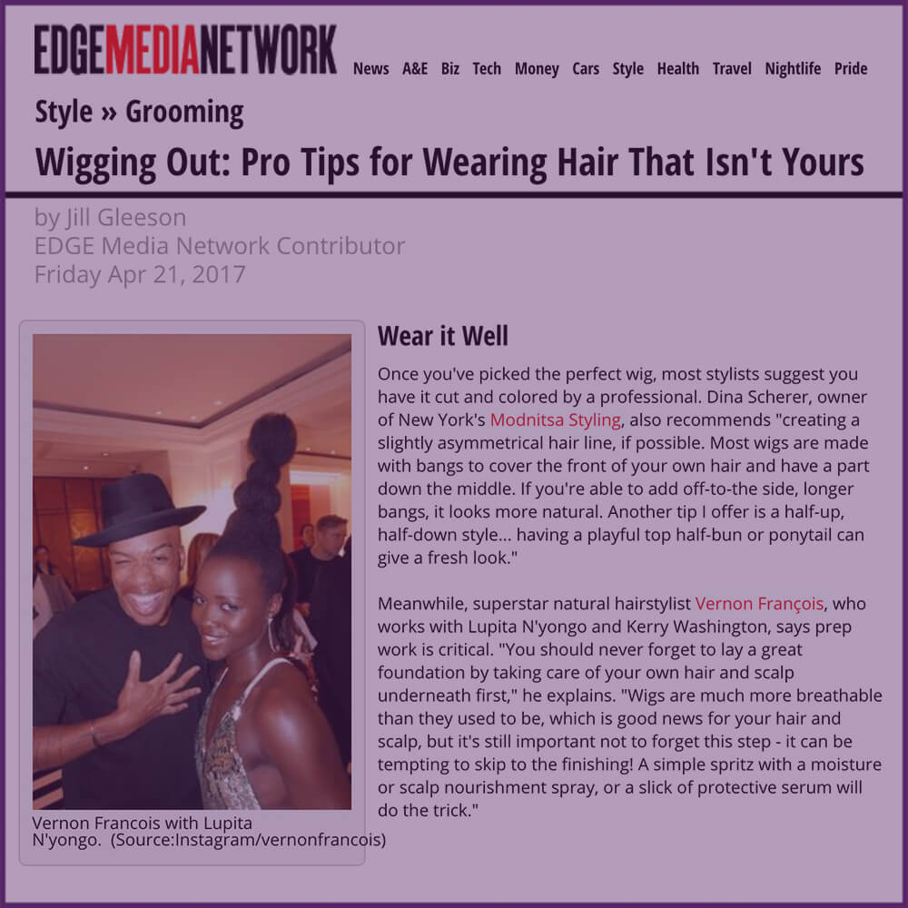 Edge Media Network Pro Tips for Wearing Hair That Isn't Yours Article April 21 2017
