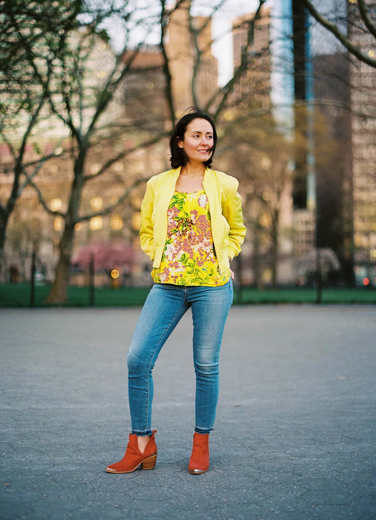 Yellow Power for Spring Modnitsa Styling Blog Post