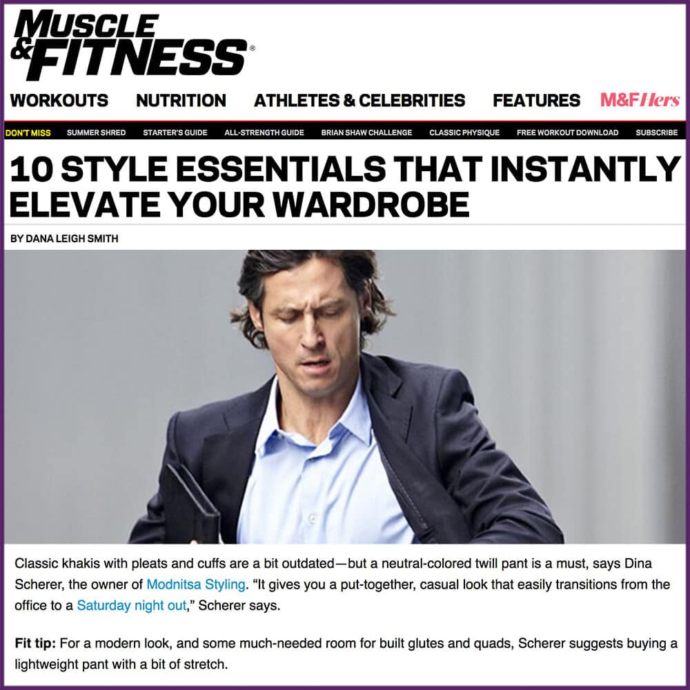 Muscle and Fitness 10 Style Essentials That Instantly Elevate Your Wardrobe Article July 31 2017