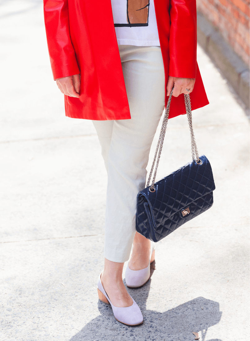 Fresh Spring Look with Theory & Coclico