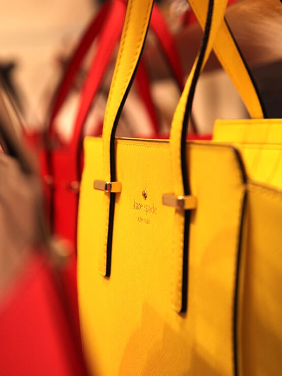 kate spade yellow bag new collection