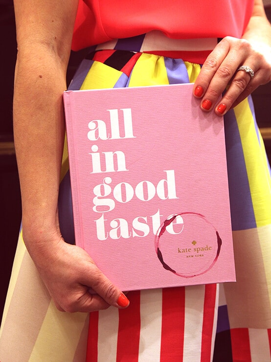 Kate Spade All In Good Taste Book